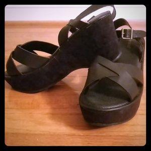BAMBOO Platform Sandals